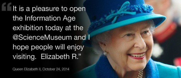 Queen-Elizabeth first tweet