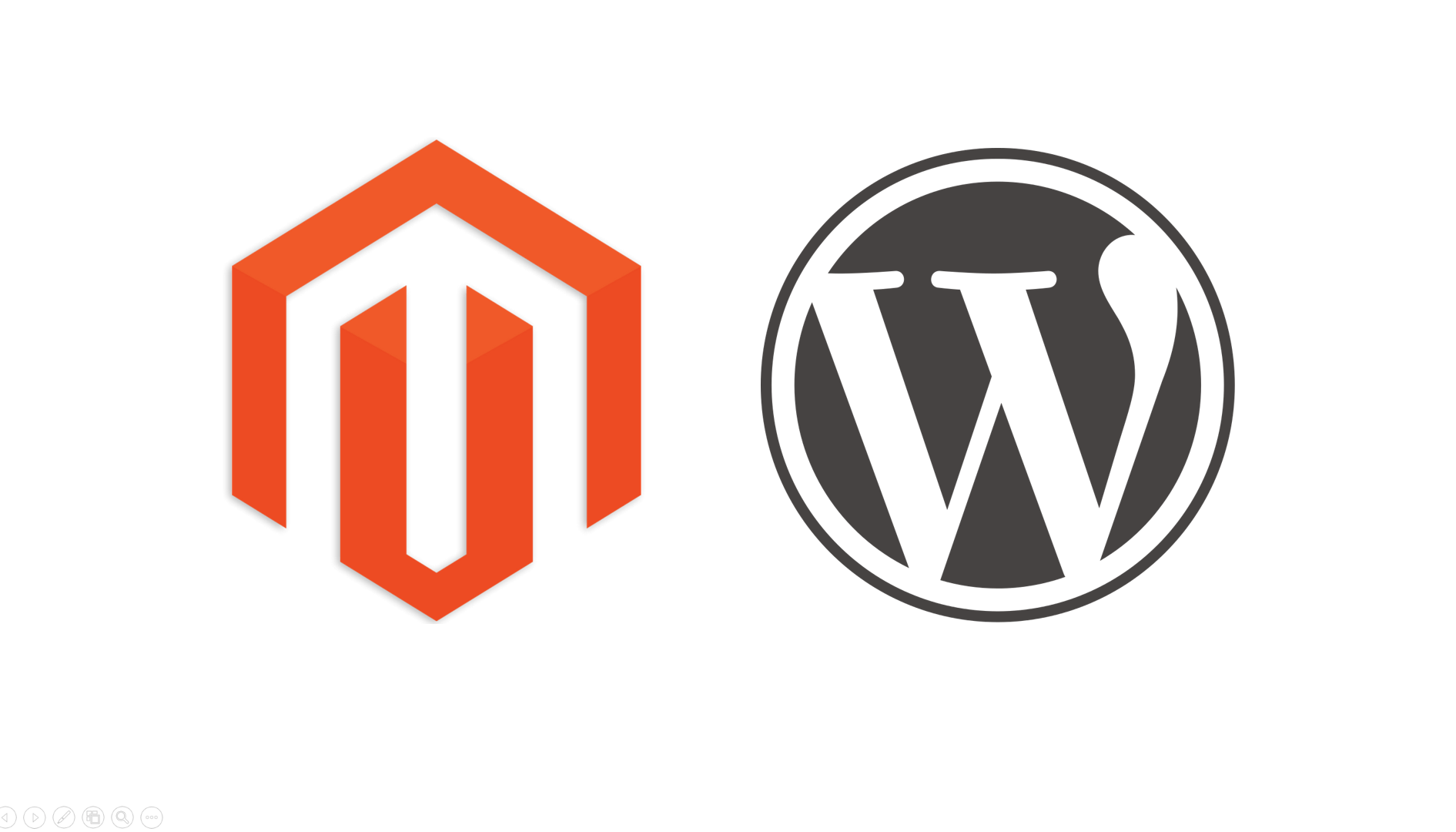 WordPress and Magento integration