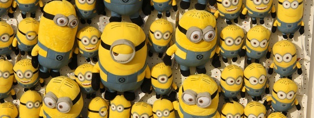 Minions behind your website
