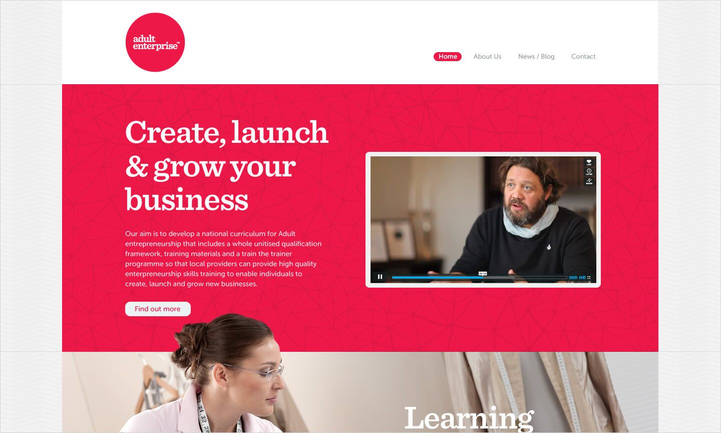 Adult Enterprise homepage