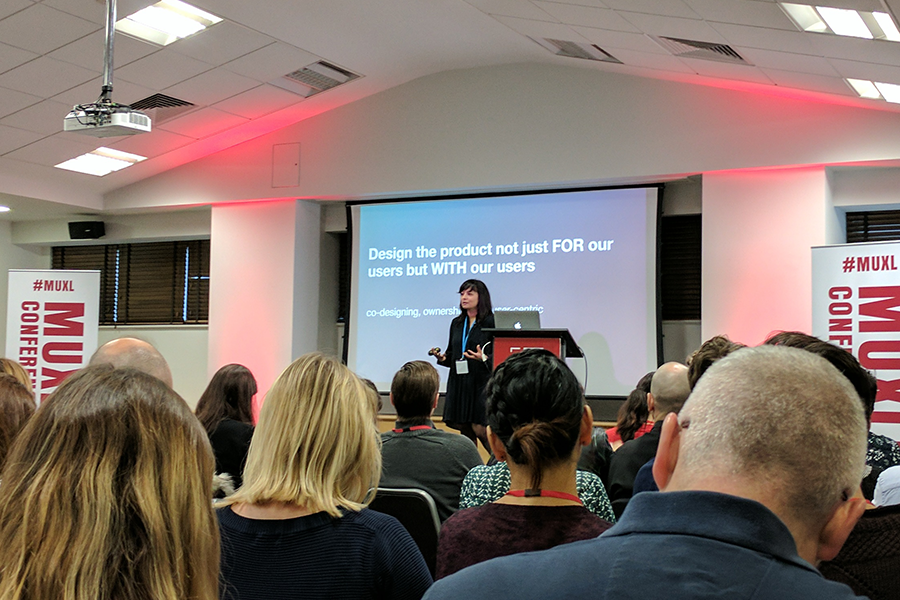 Airbnb sharing insights at Mobile UX London Conference 2017