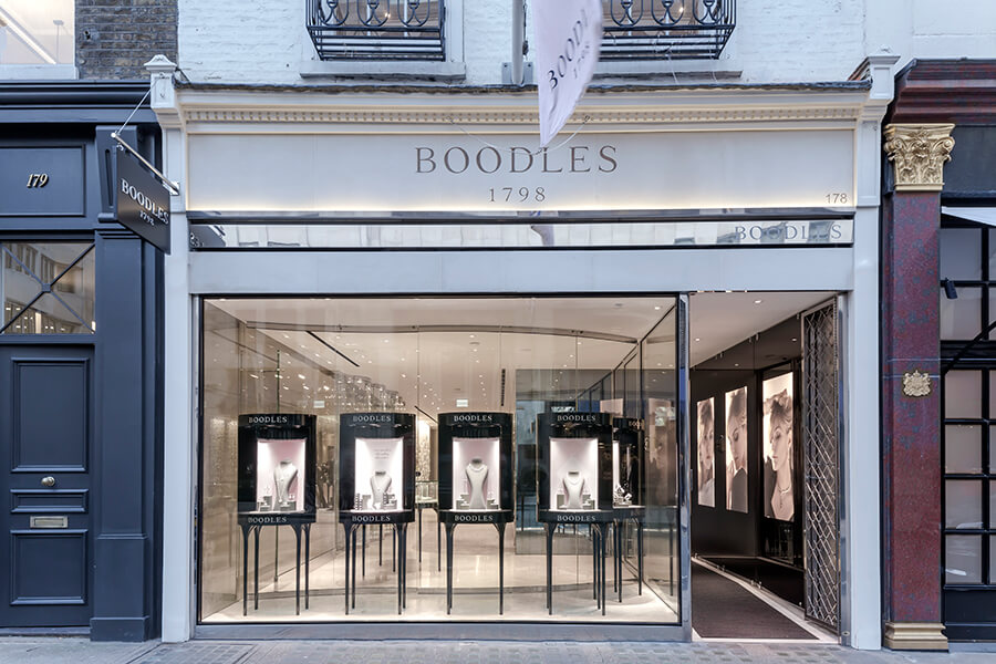 Boodles Bond St shop