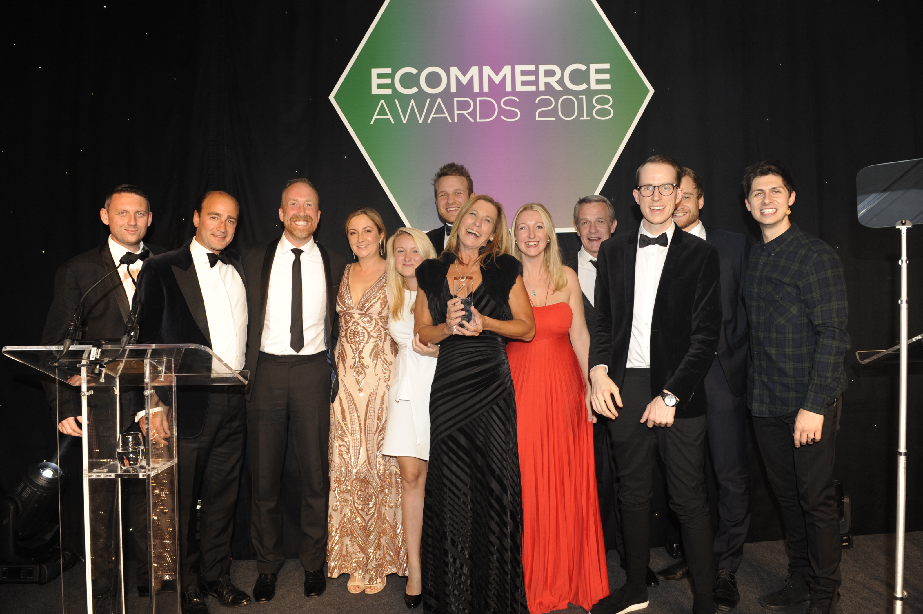 Ecommerce Awards 2018 winner